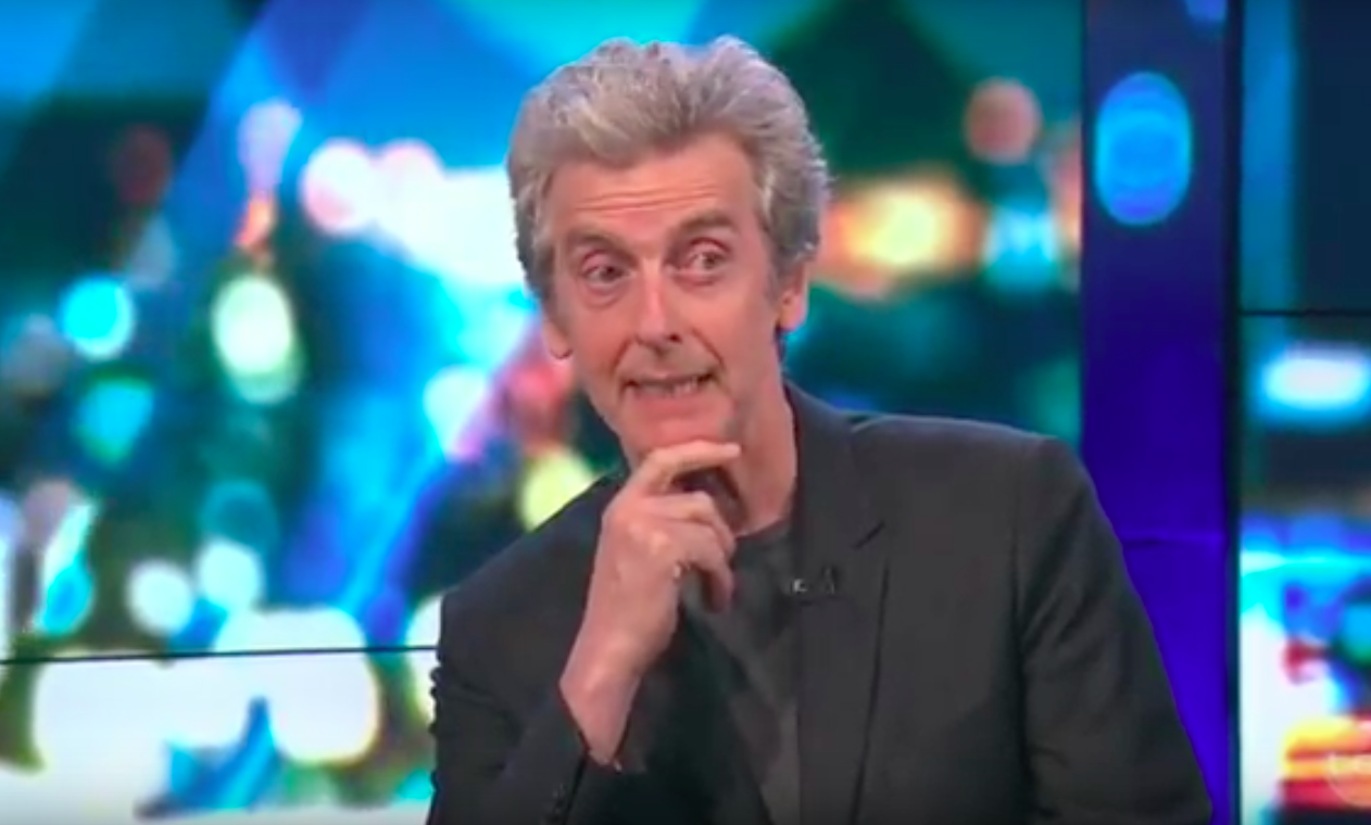 Peter Capaldi on The Sunday Project as Malcolm Tucker