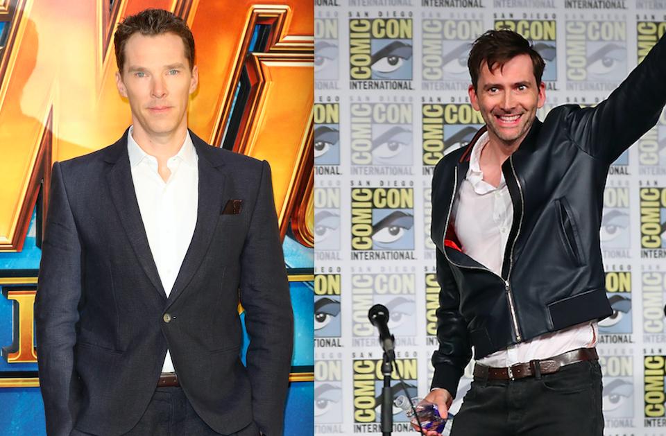 Benedict Cumberbatch, David Tennant