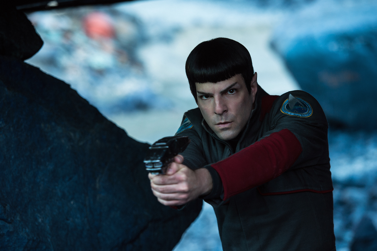 Zachary Quinto as Spock in Star Trek Beyond (SEAC, JG)