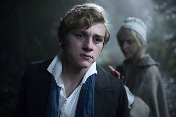The Woman in White - Ben Hardy as artist Walter Hartright