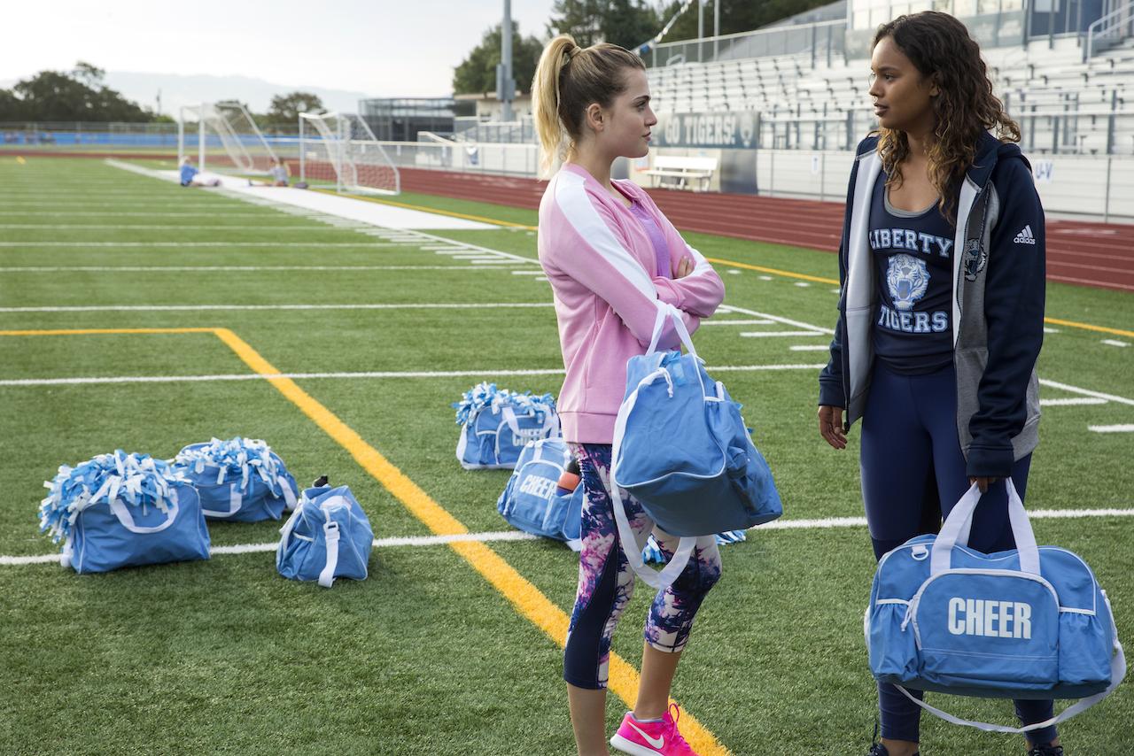 Chloe and Jessica in 13 Reasons Why season 2 (Netflix)