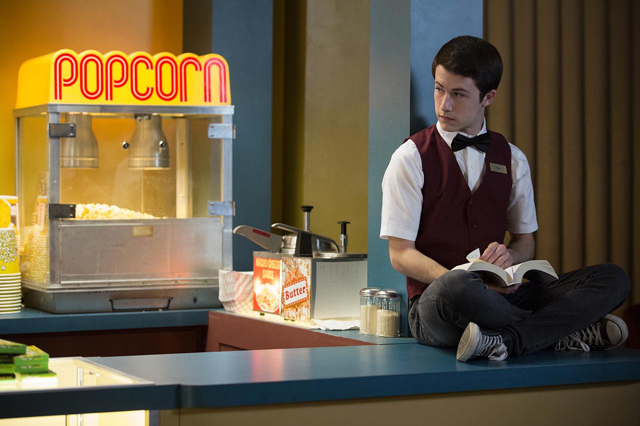 Clay Jensen (Dylan Minnette) in 13 Reasons Why season two (Netflix)