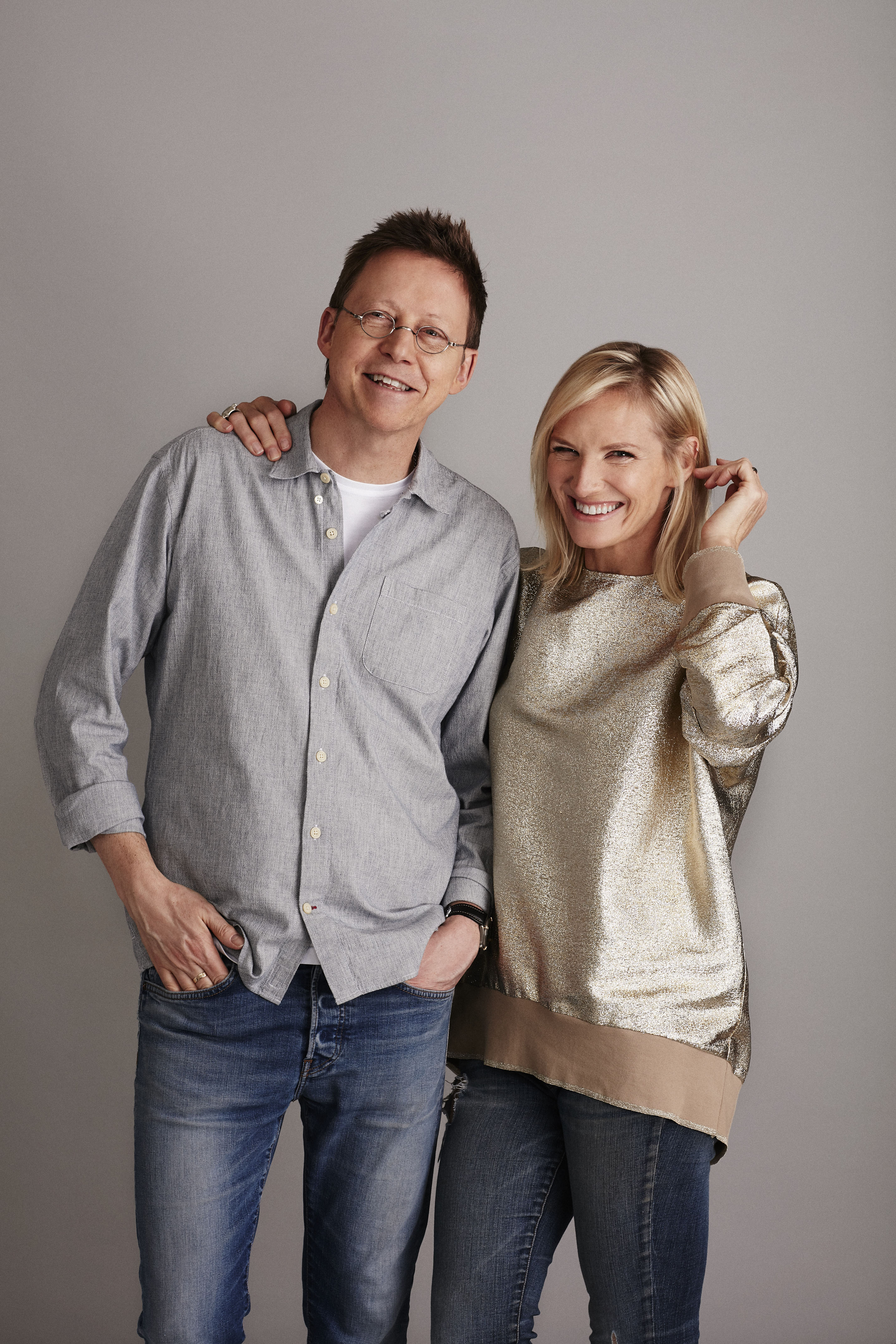 Simon Mayo, Jo Whiley (BBC Pictures)