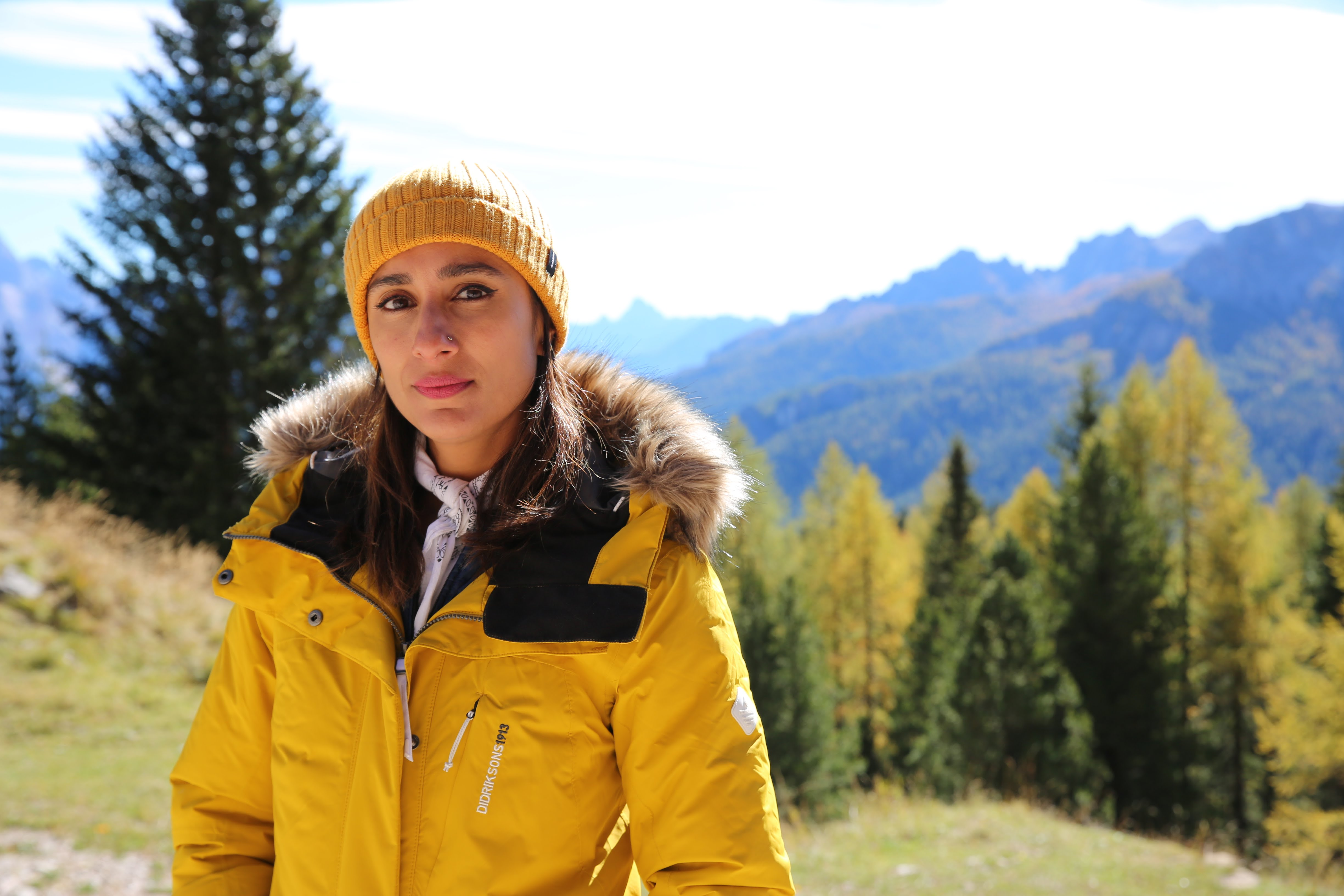Anita Rani in Italy's Dolomite Mountains