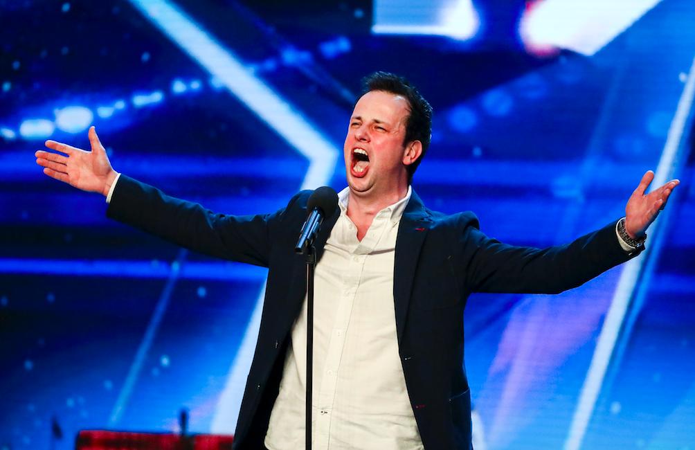 Britain's Got Talent Ronan Busfield