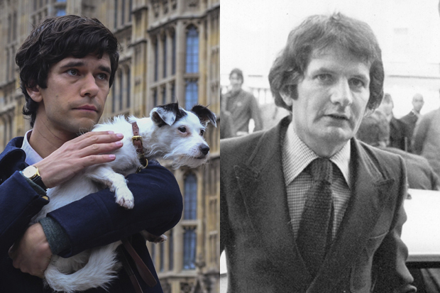 Ben Whishaw – and the real Norman Scott
