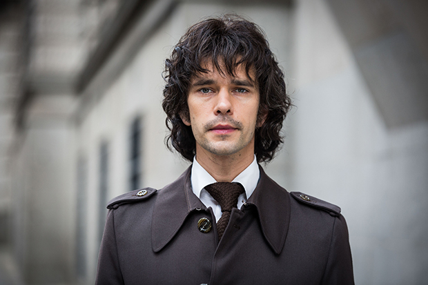 Ben Whishaw plays Norman Scott in A Very English Scandal