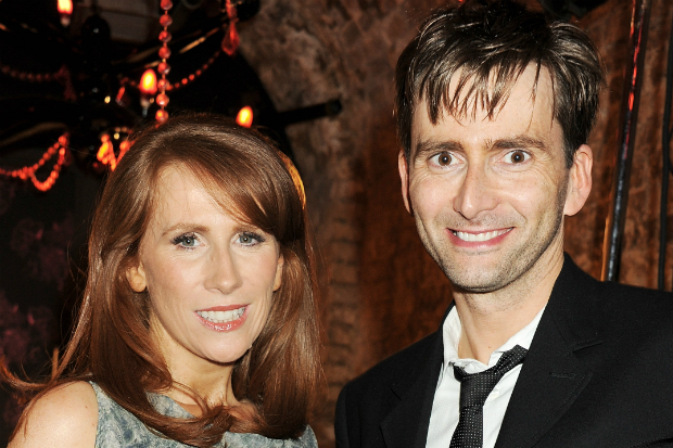 Catherine Tate and David Tennant