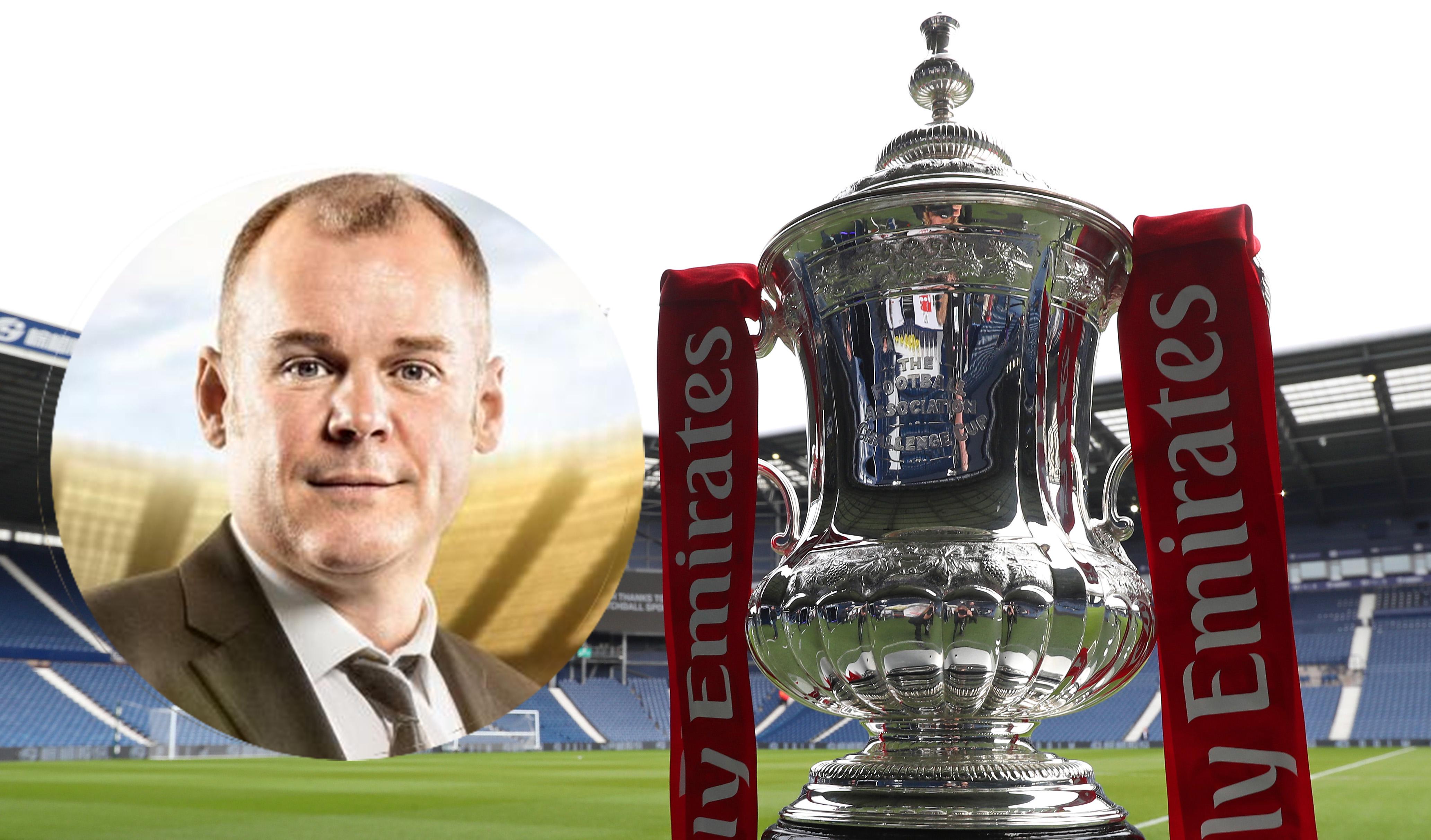 FA Cup Final / commentator Steve Wilson