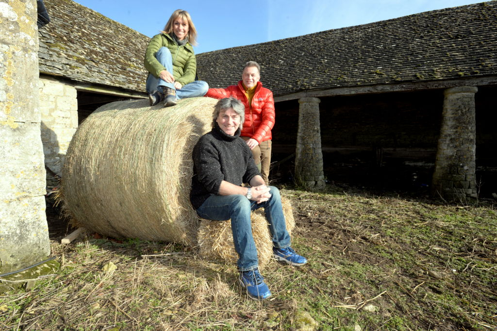 GLOUCESTERSHIRE, UNITED KINGDOM - JANUARY 30:                          Winterwatch presenters Michaela Strachan, Martin Hughes-Games and Chris Packham at the National Trust Sherborne Park Estate in Gloucestershire, UK, before broadcasting on Tuesday 30th January 2018.                         TEL ALLAN KING NATIONAL TRUST 07771 837988                         (PIC PAUL NICHOLLS) TEL 07718 152168                         EDF ENERGY SOUTH WEST NEWS PHOTOGRAPHER OF THE YEAR 2009/2014                         WWW.PAULNICHOLLSPHOTOGRAPHY.COMPHOTOGRAPH BY Paul Nicholls / Barcroft Images (Photo credit should read PAUL NICHOLLS / Barcroft Media via Getty Images)