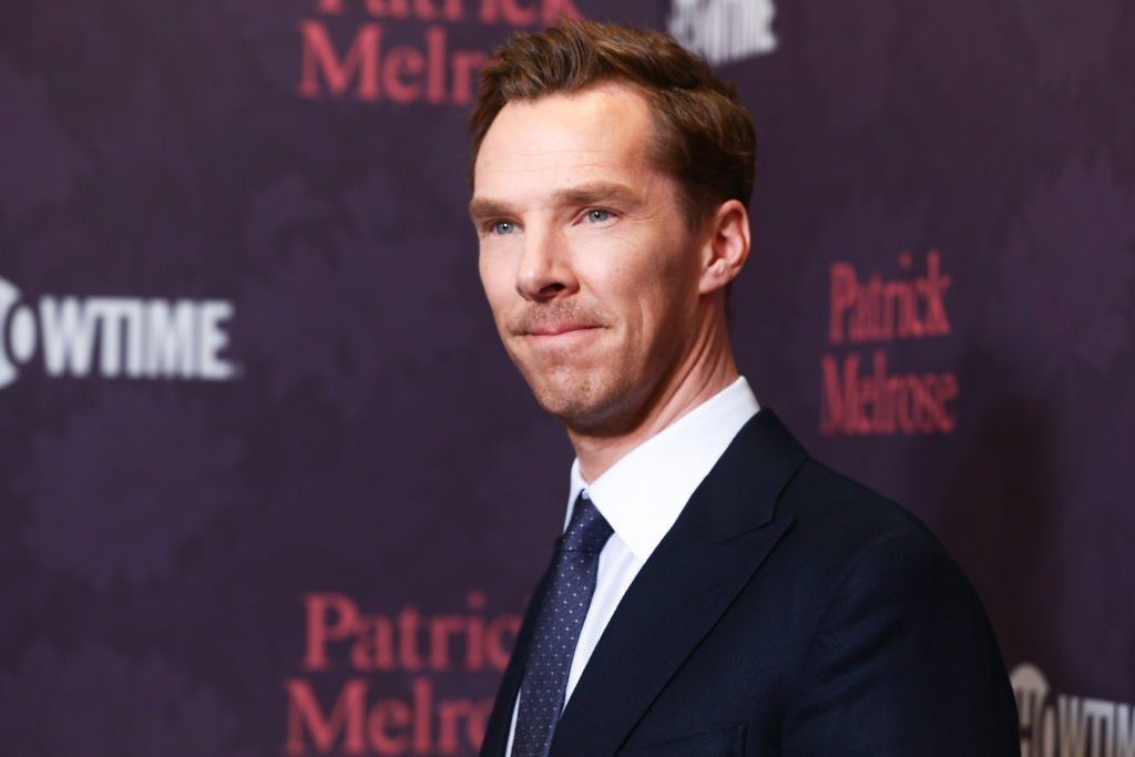 Benedict Cumberbatch at the Patrick Melrose premiere in LA