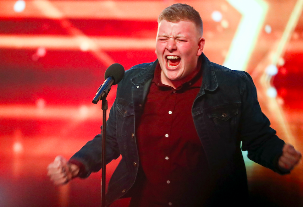 Gruffydd Wyn Roberts on Britain's Got Talent