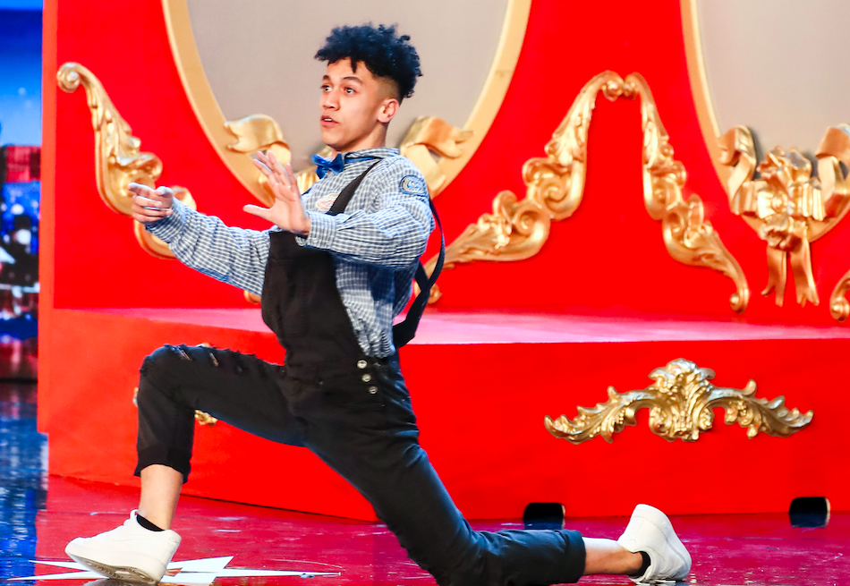 Shameer Rayes on Britain's Got Talent