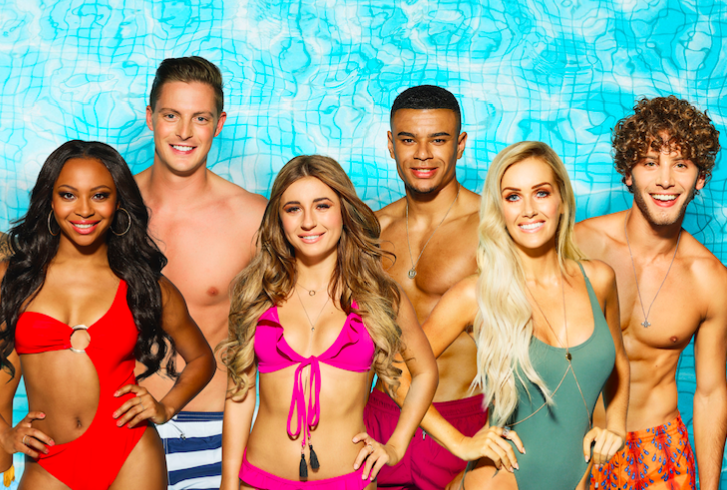 Love Island contestants group shot