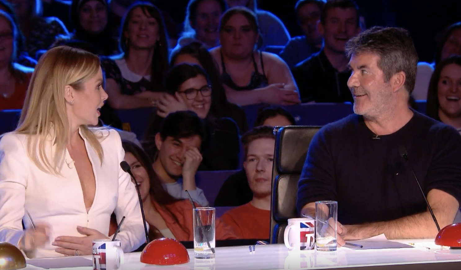 Britain's Got Talent Amanda Holden, Simon Cowell