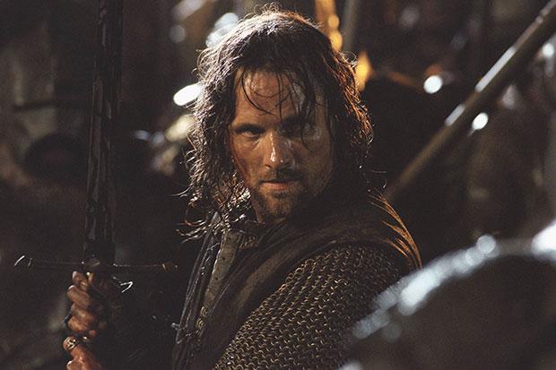 Viggo Mortensen as Aragorn in Lord of the Rings, SEAC, SL