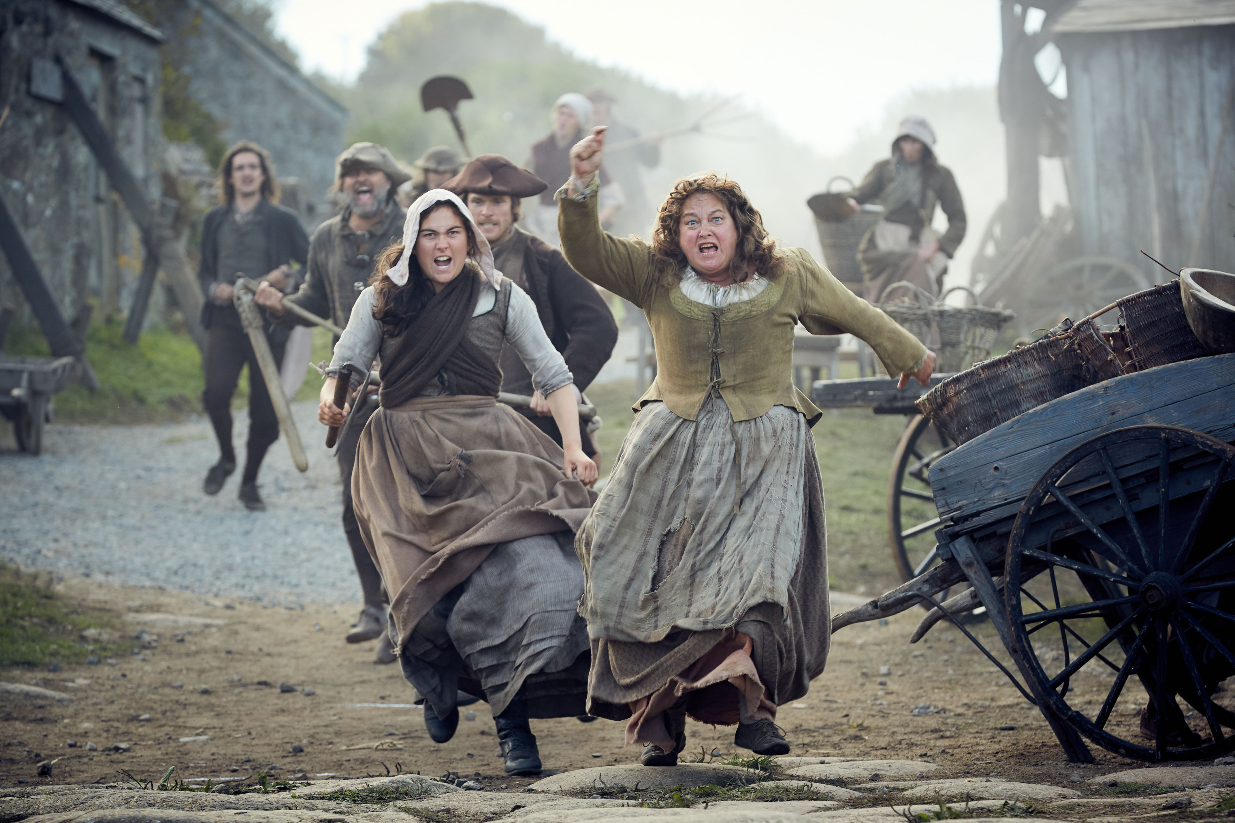 WARNING: Embargoed for publication until 00:00:01 on 01/08/2017 - Programme Name: Poldark S3 - TX: 06/08/2017 - Episode: n/a (No. 9) - Picture Shows: +++PUBLICATION OF THIS IMAGE IS STRICTLY EMBARGOED UNTIL 00.01 HOURS TUESDAY AUGUST 1ST, 2017+++ Prudie (BEATIE EDNEY) - (C) Mammoth Screen - Photographer: Robert Viglasky