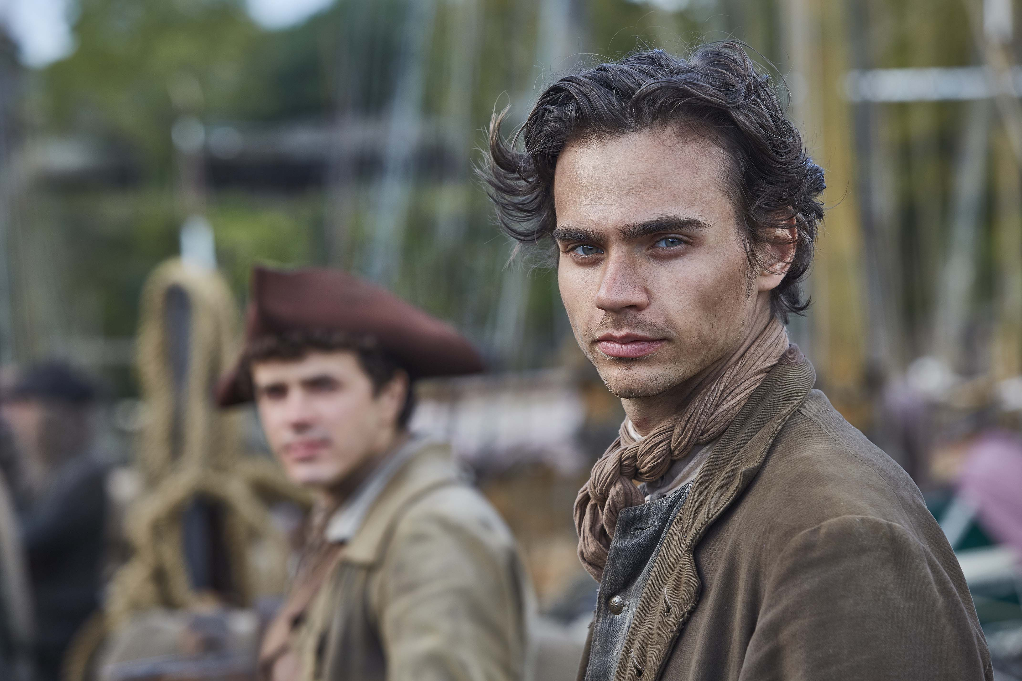 WARNING: Embargoed for publication until 00:00:01 on 05/06/2018 - Programme Name: Poldark - Series 4 - TX: n/a - Episode: Poldark S4 - EP1 (No. 1) - Picture Shows: ***EMBARGOED TILL 5TH JUNE*** Sam Carne (TOM YORK), Drake Carne (HARRY RICHARDSON) - (C) Mammoth Screen - Photographer: Mike Hogan