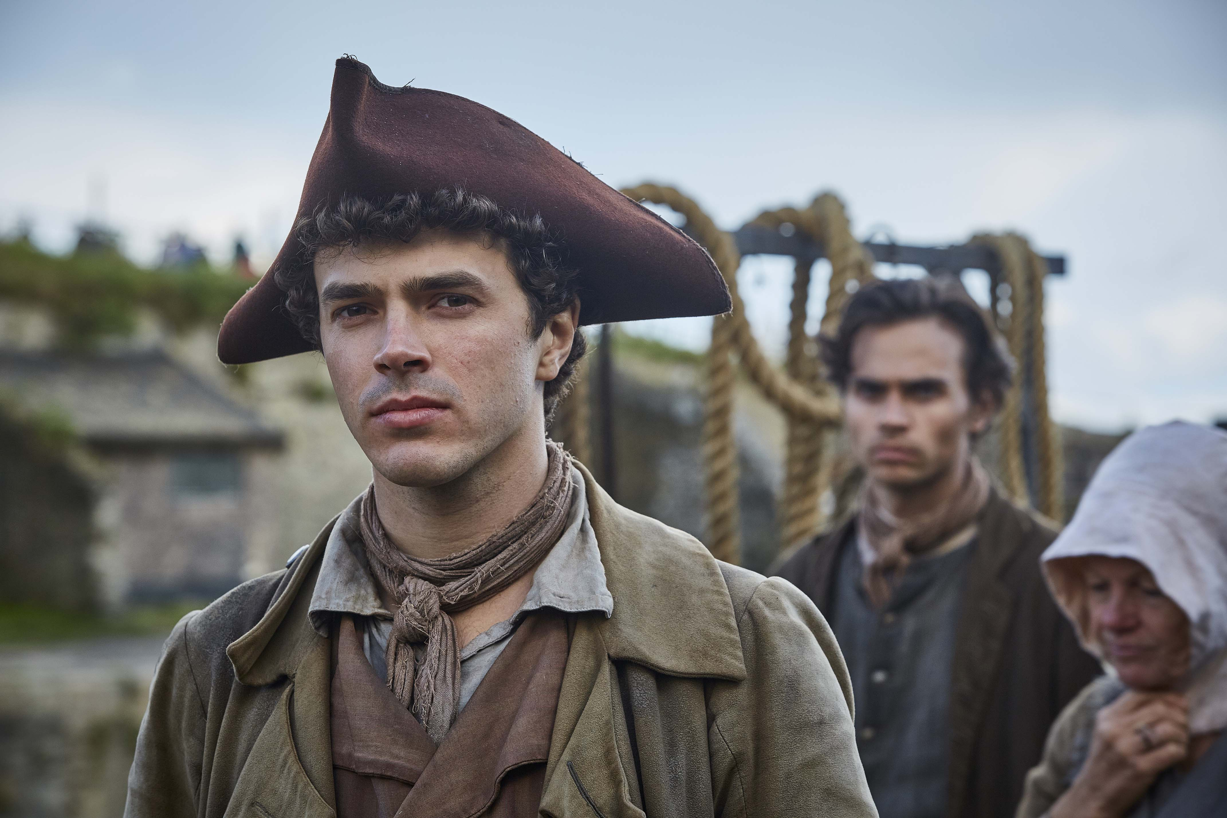 WARNING: Embargoed for publication until 00:00:01 on 05/06/2018 - Programme Name: Poldark - Series 4 - TX: n/a - Episode: Poldark S4 - EP1 (No. 1) - Picture Shows: ***EMBARGOED TILL 5TH JUNE*** Drake Carne (HARRY RICHARDSON) - (C) Mammoth Screen - Photographer: Mike Hogan