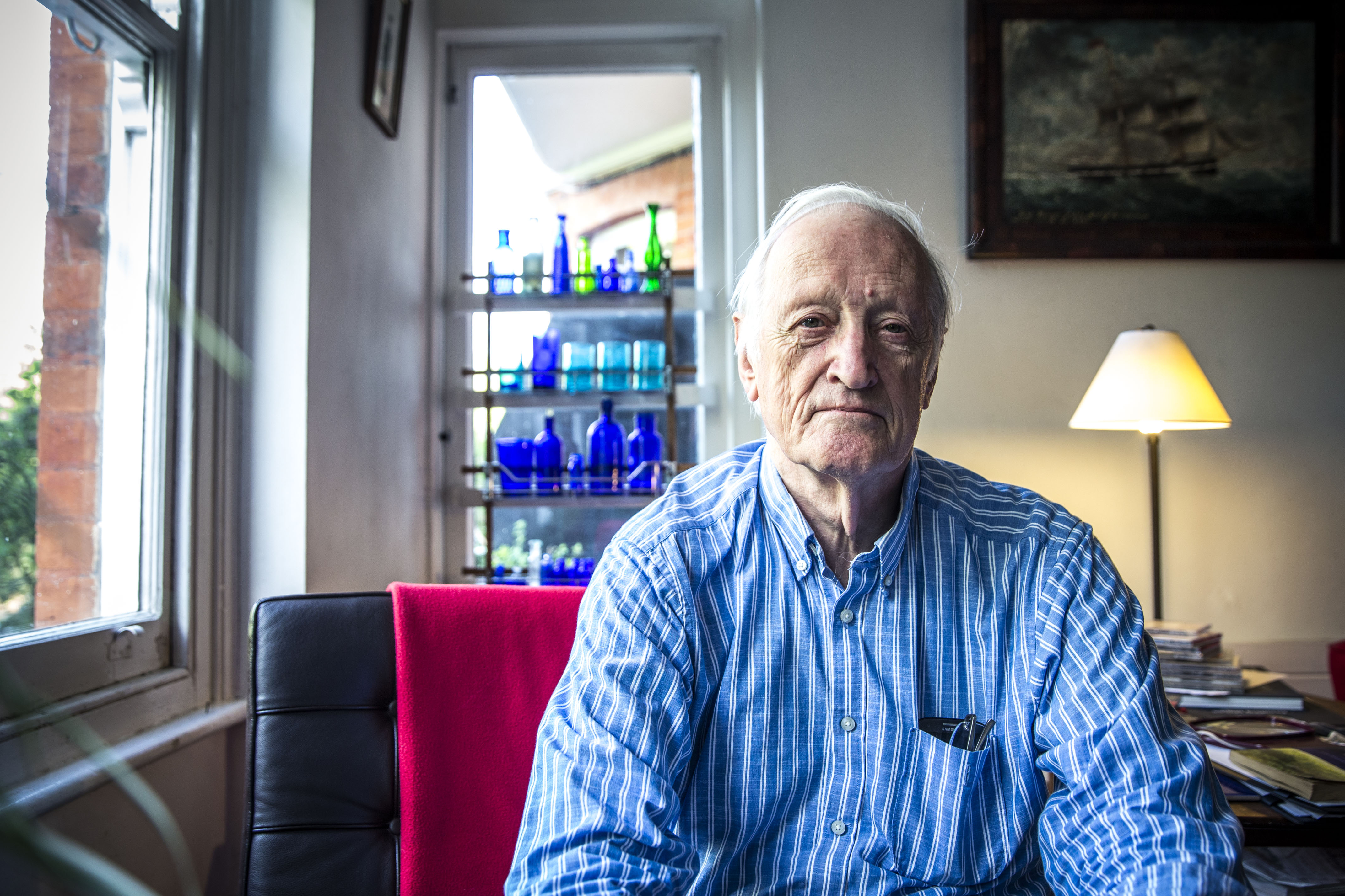 Peter Deakins, architect. (BBC)