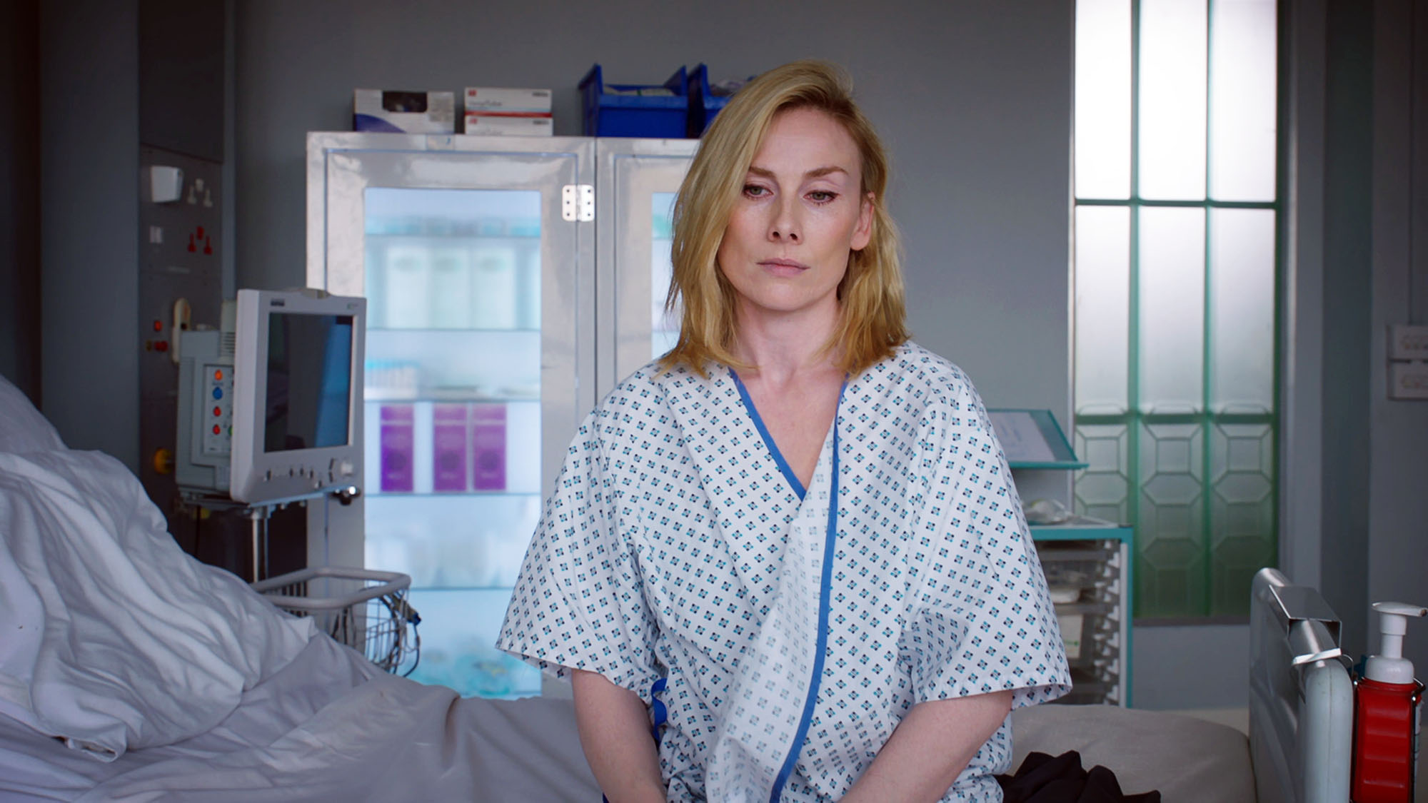 WARNING: Embargoed for publication until 00:00:01 on 29/05/2018 - Programme Name: Holby City Series 20 - TX: n/a - Episode: n/a (No. 24) - Picture Shows: ***EMBARGOED TILL 29TH MAY 2018*** Jac Naylor (ROSIE MARCEL) - (C) BBC - Photographer: Screengrab