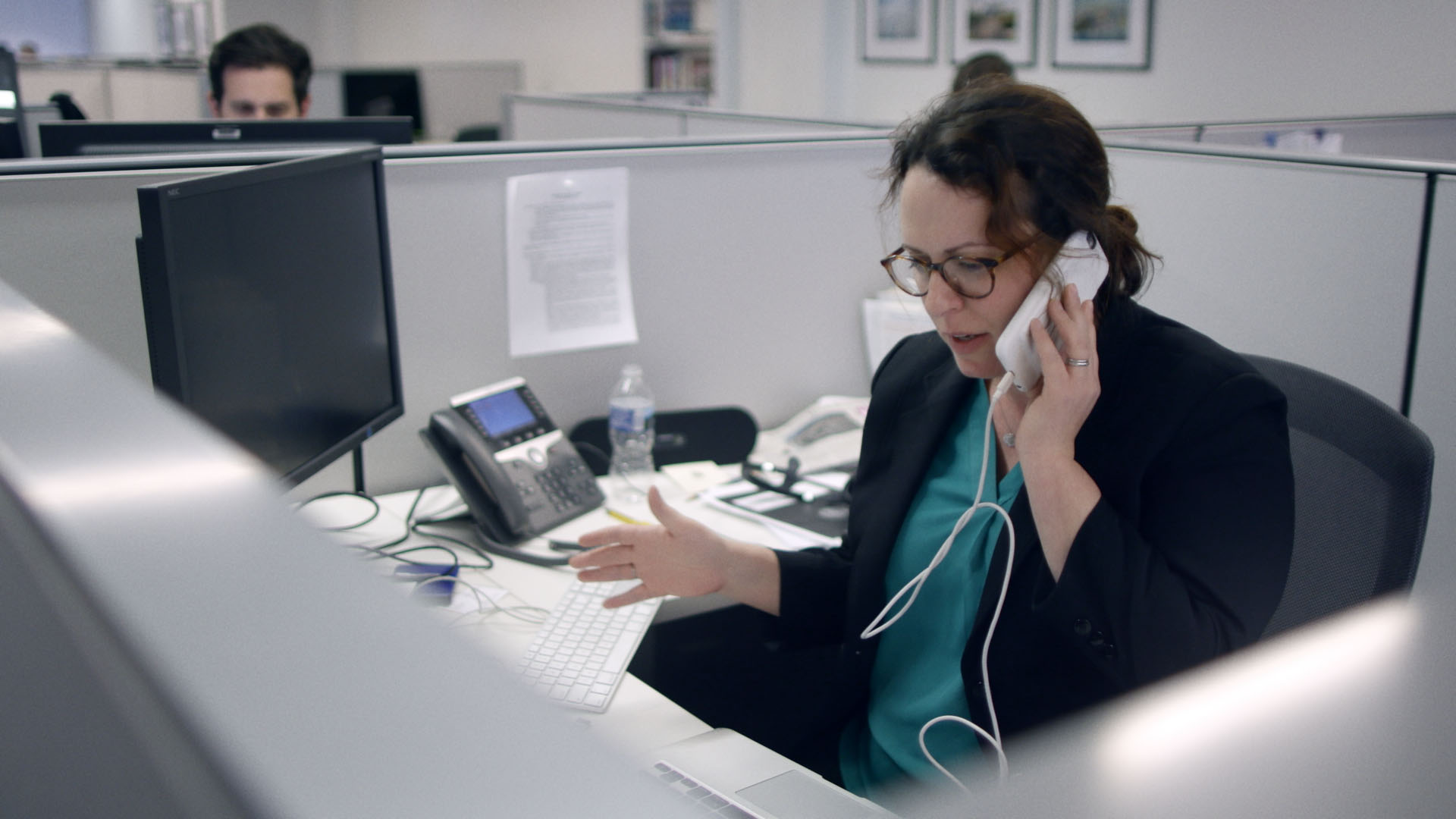 Maggie Haberman, White House Correspondent, gets a phone call from Trump (BBC)