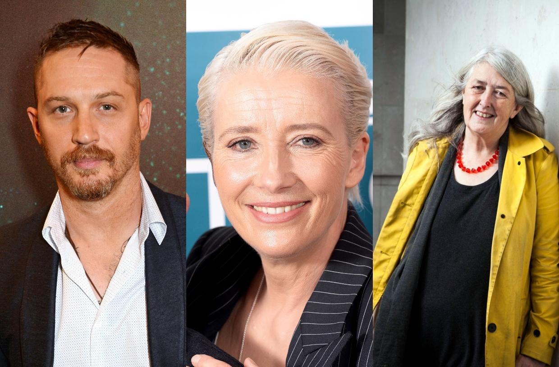 Emma Thompson, Tom Hardy, Mary Beard Birthday Honours