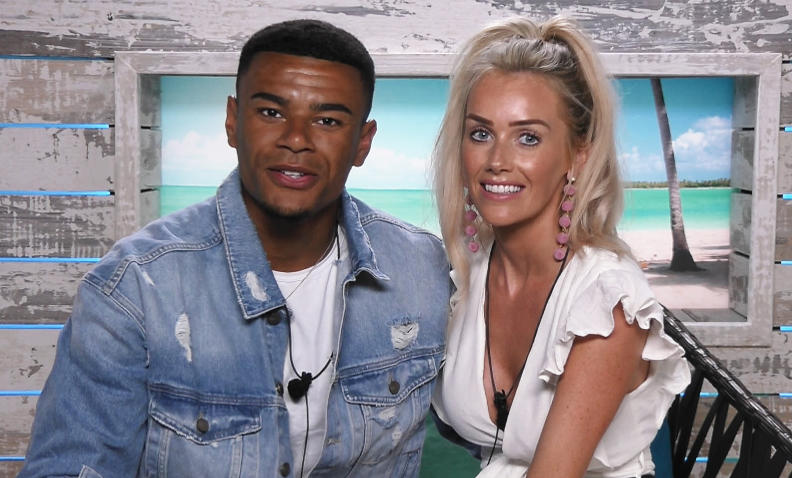 Wes Nelson and Laura Anderson on Love Island 2018 episode 10