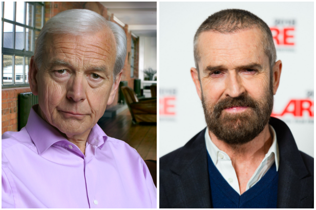 John Humphrys, Rupert Everett (BBC, Getty, EH)