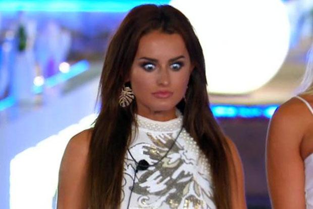 Amber on Love Island, ITV, SL