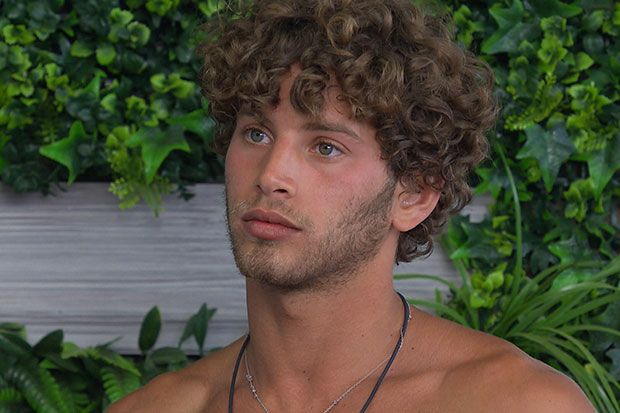 Eyal Booker in Love Island, ITV Pictures, SL