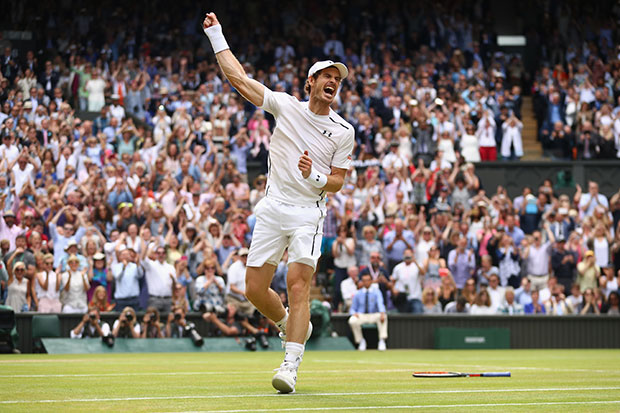Who is playing at Wimbledon today?