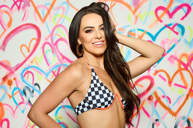 Rosie Williams in Love Island, ITV Pictures, SL