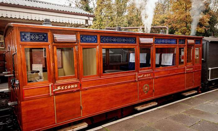 In episode two, a wooden carriage from the very dawn of the railway age - 1864 - is restored