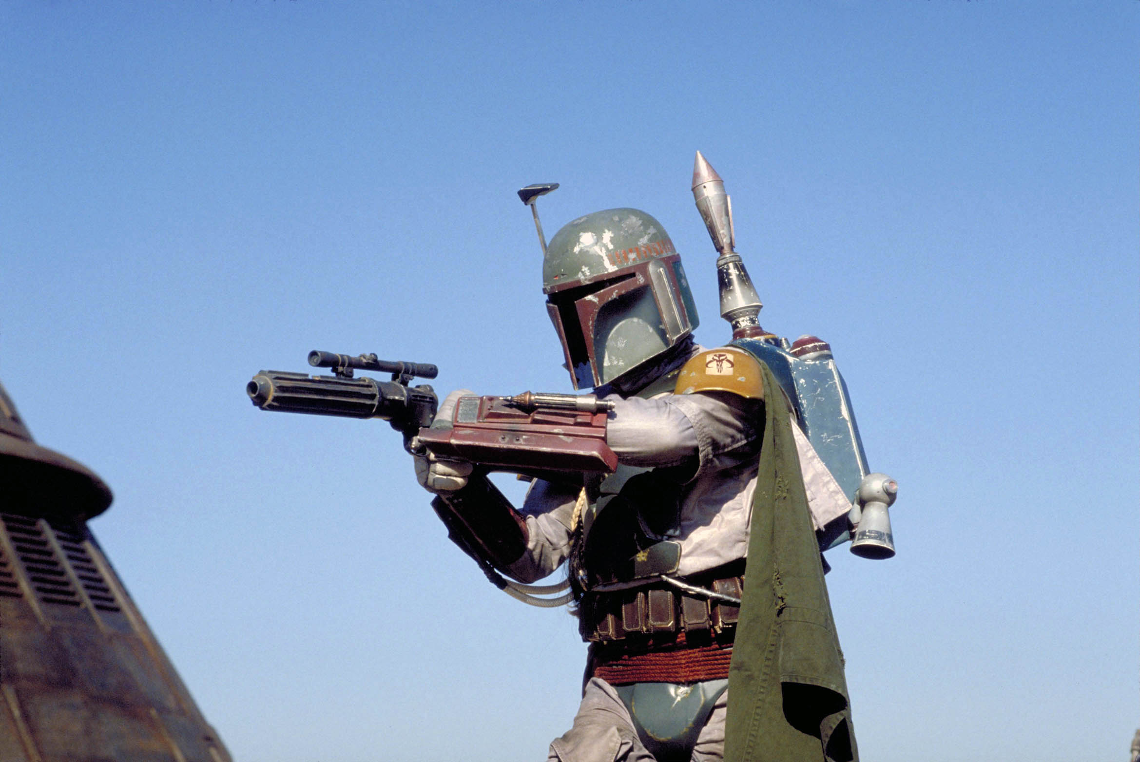 This sneak peak of The Mandalorian is a call back to the most infamous moment in Star Wars history