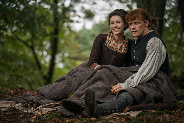 How was North Carolina filmed in Scotland for Outlander season 4?