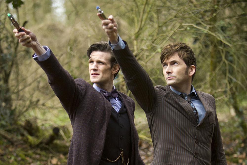 There were some brilliant Matt Smith and David Tennant callbacks in Doctor Who episode Kerblam!