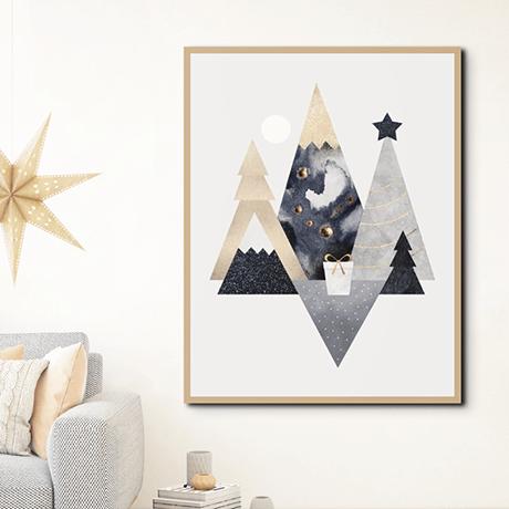 Christmas Mountains by Elisabeth Fredriksson