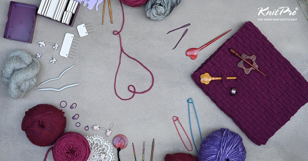 KnitPro knitting and crocheting