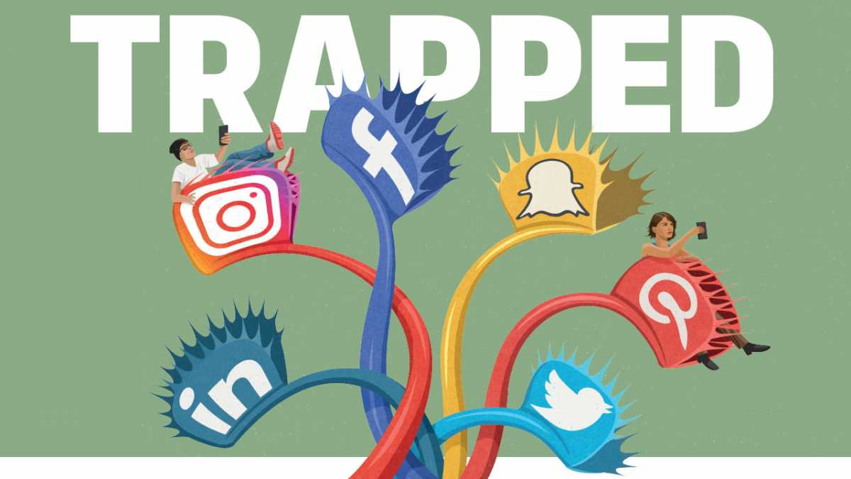 Trapped - the secret ways social media is built to be addictive (and what you can do to fight back)