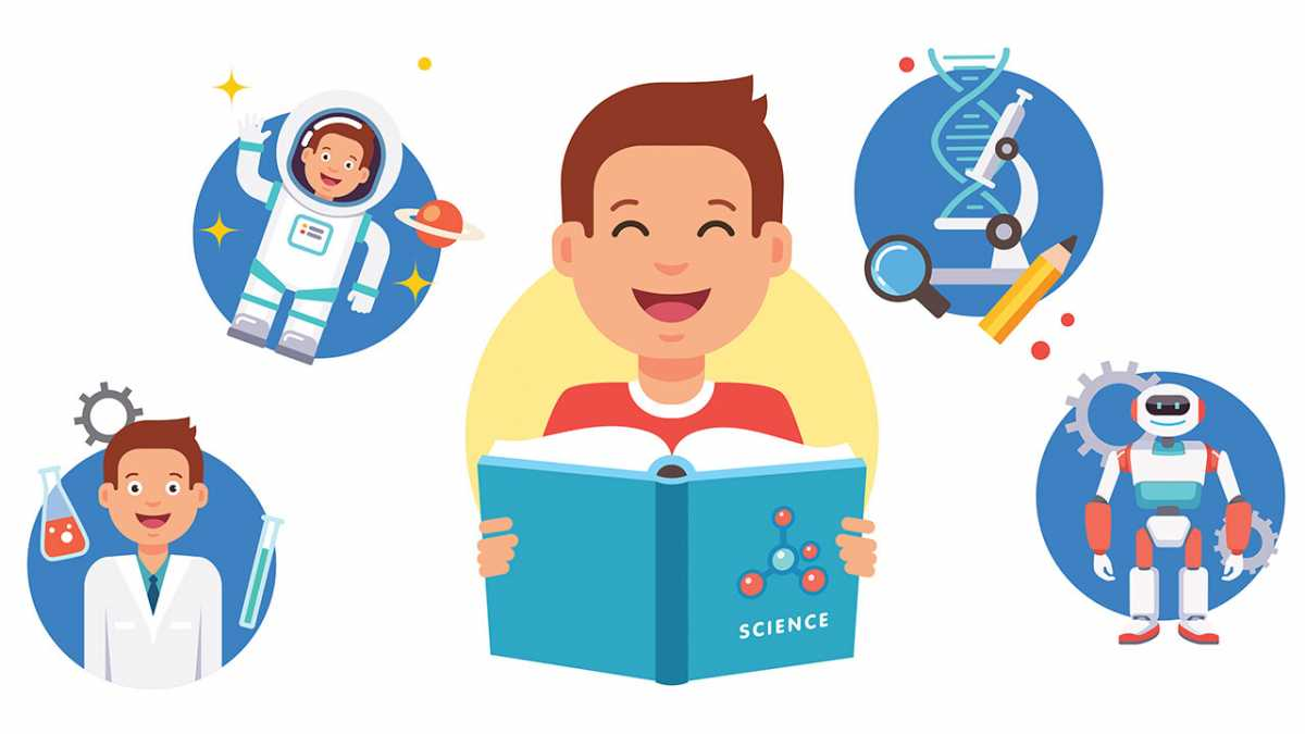 Five brilliant science books for kids