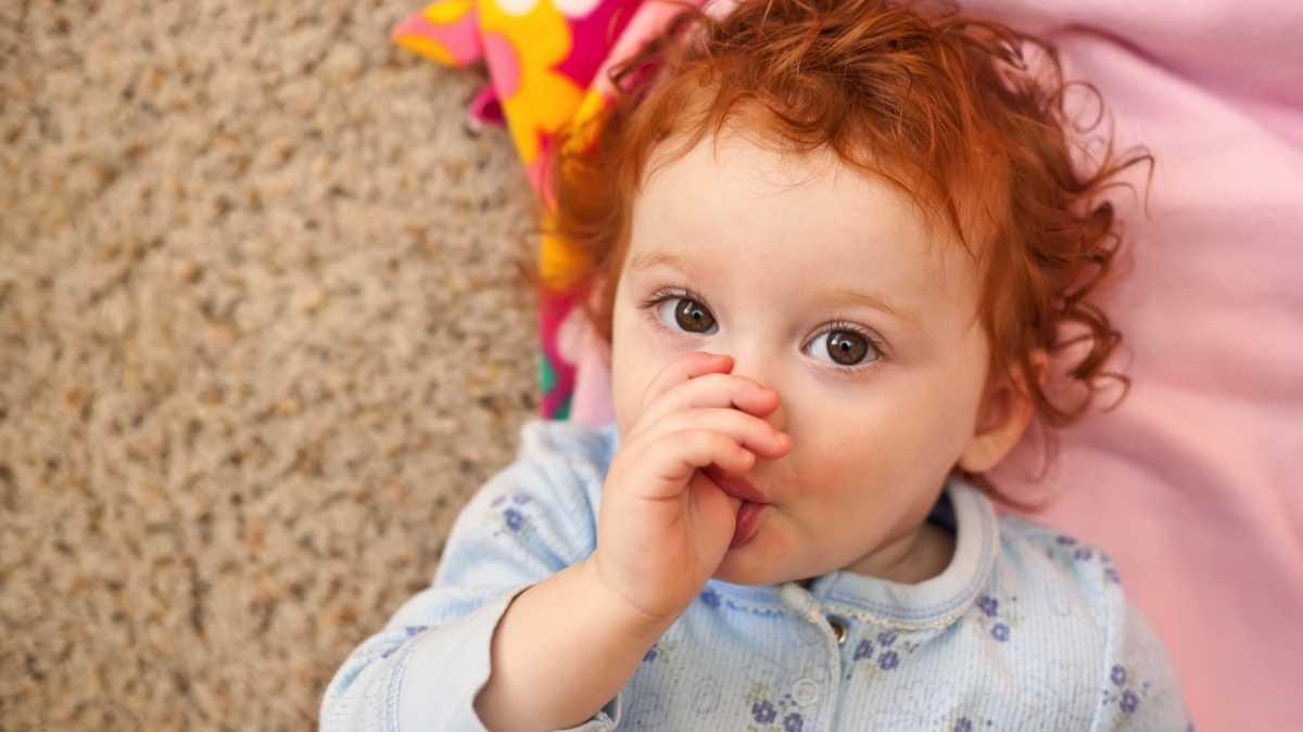 Thumb-sucking and nail-biting children show fewer allergies