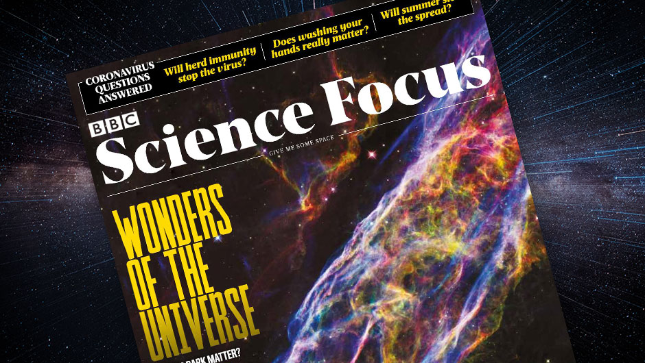 BBC Science Focus Magazine: Wonders of the Universe - cover