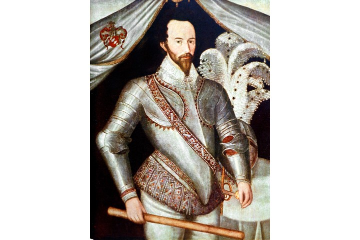 "Elizabethan adventurer, courtier, navigator and historian Sir Walter Ralegh – ""a gorgeous, larger than life figure"". Unfortunately, many of his peers weren't impressed by his good looks, and saw instead an arrogant man, blind to his own weaknesses. (Time Life Pictures/Mansell/The LIFE Picture Collection/Getty Images)"