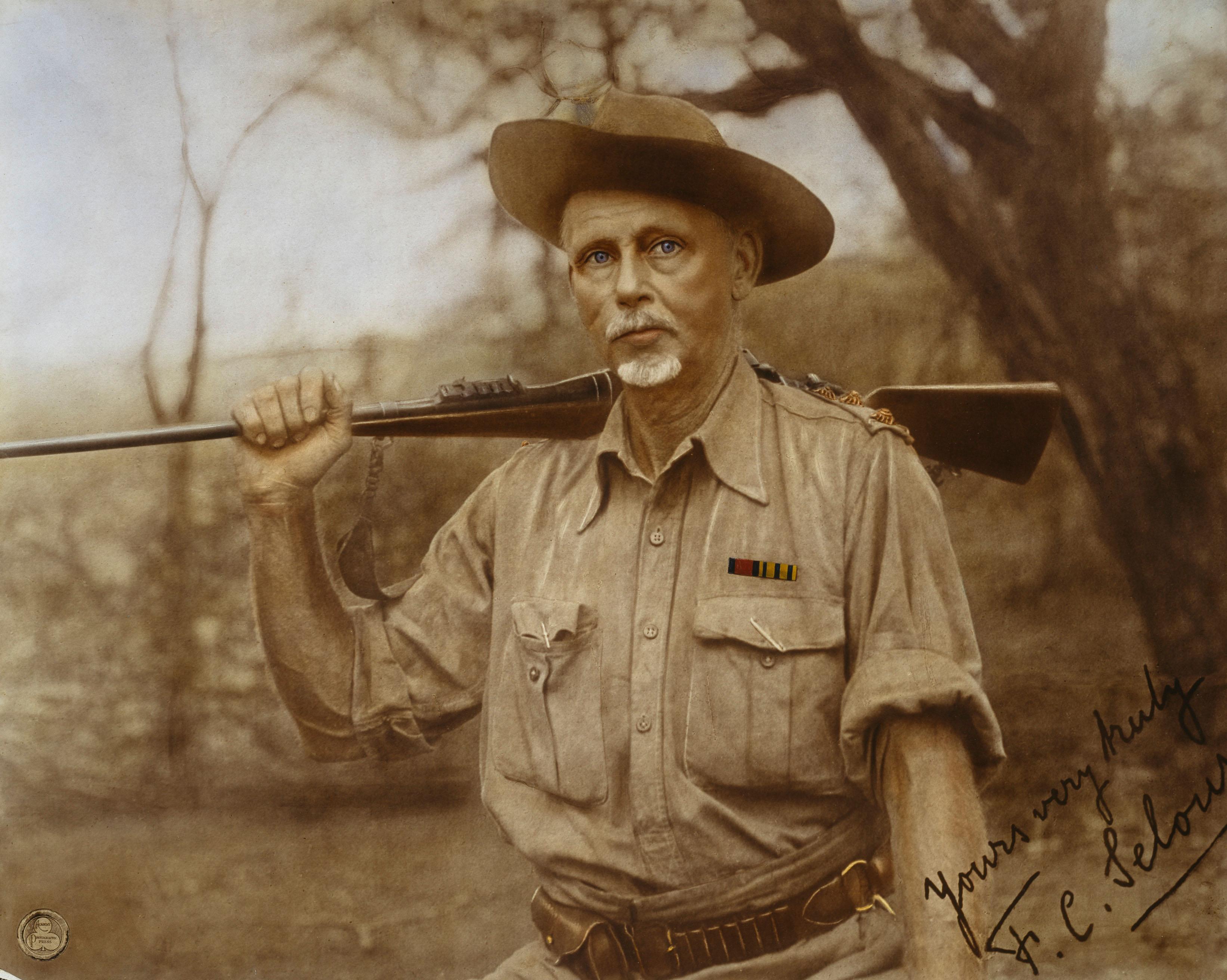 Frederick Courteney Selous (1851-1917). (Alamy)