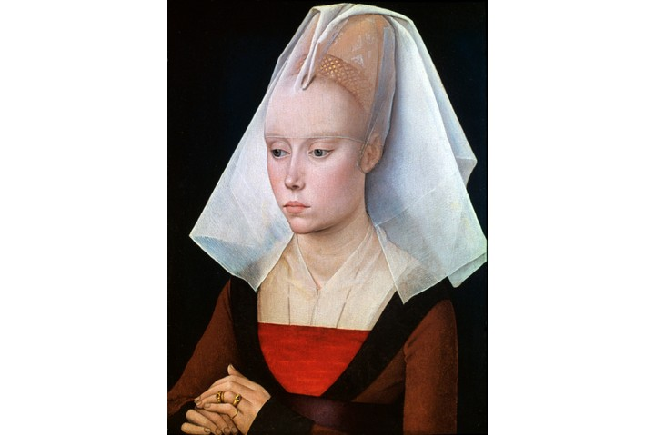 'Portrait of a Lady' by Netherlandish painter Rogier van der Weyden, c1460. From the collection of the National Gallery, London, United Kingdom. (Photo by Art Media/Print Collector/Getty Images)