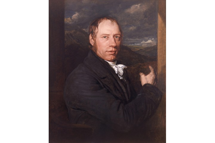 "John Linnell's 1816 portrait of Cornish engineer Richard Trevithick. His high-pressure steam engine ""was the invention that unleashed power on this planet,"" says Michael Mosley. (Universal History Archive/Getty Images)"