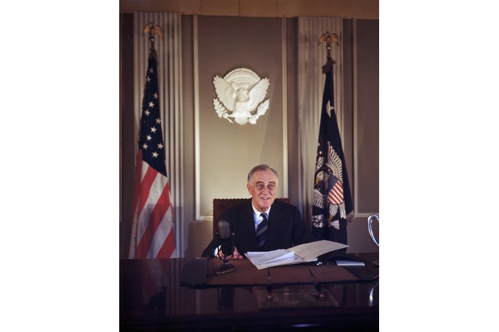 """Franklin D Roosevelt, the 32nd president of the USA, and a """"hugely important figure in the history of the 20th century"""". (Getty Images)"""