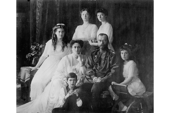The family of Tsar Nicholas II of Russia, c1910.