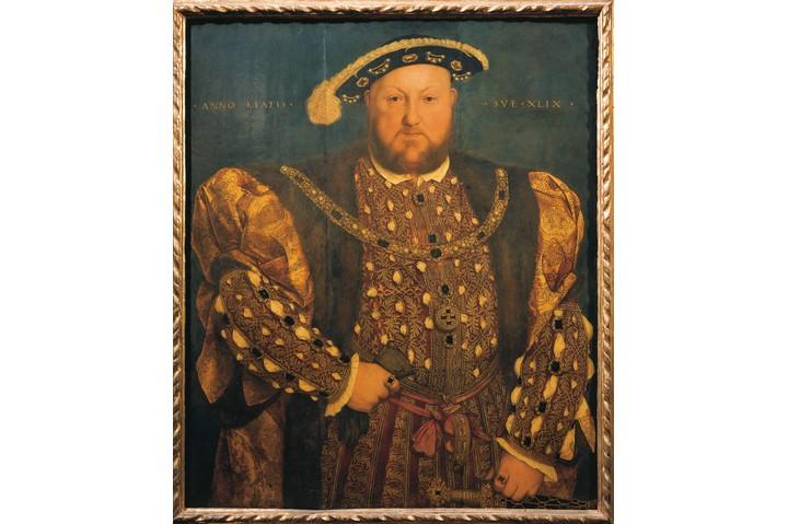 A portrait of Henry VIII